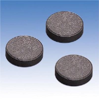 Magnete grezzo in ferrite disco diam 18x4mm