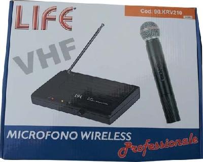 RADIOMICROFONO VHF WIRELESS KRV210 LIFE