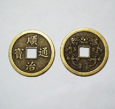 Moneta cinese antica misura media