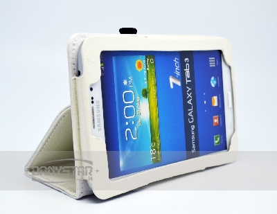Custodia Cover in Ecopelle Bianca per Samsung Galaxy Tab 3 70 P3200 Ga