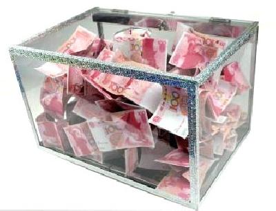 Box apparizione banconote