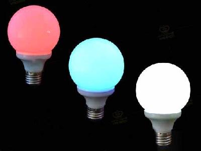 Lampada bianca rossa blu accensione magnetica