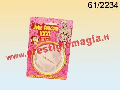 Condom XXL largo 8cm