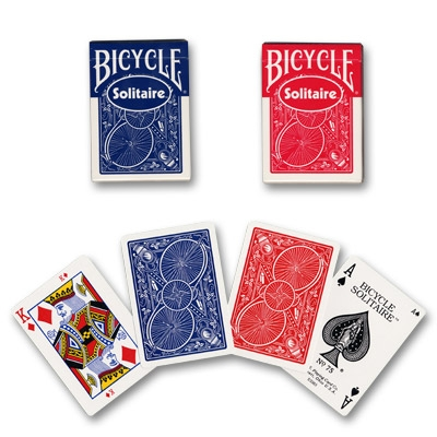 Solitaire Bicycle dorso rosso o blu