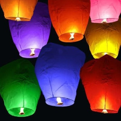 Lanterna cinese dei desideri 50 pezzi pennarello OMAGGIO Certificate