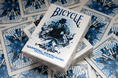 BICYCLE KARNIVAL RENEGADES DECK BY BIG BLIND MEDIA