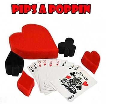 Pips A Poppin Semi di spugna dalle carte