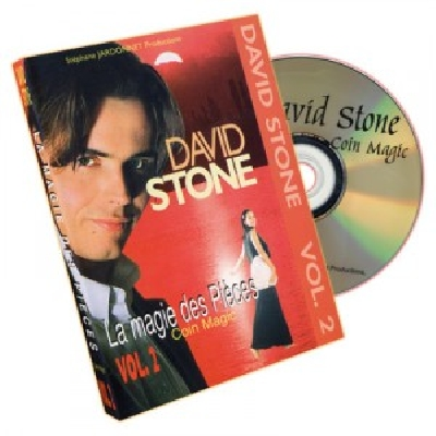 David Stone Vol 2 DVD Coin Magic