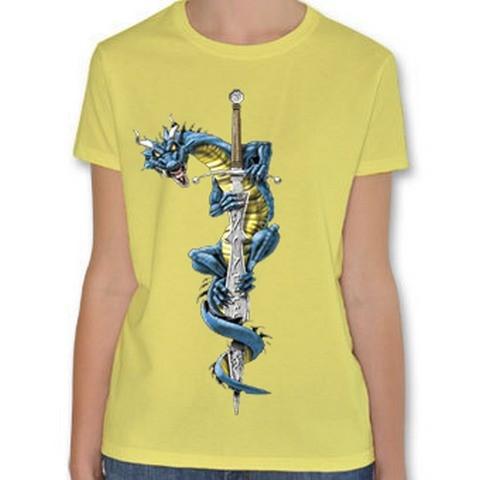 T shirt Donna Drago Spada