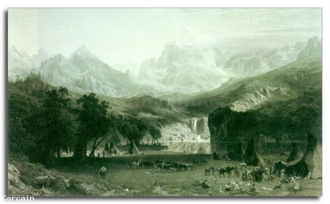 Riproduzione Artistica Rockies al Picco Lander