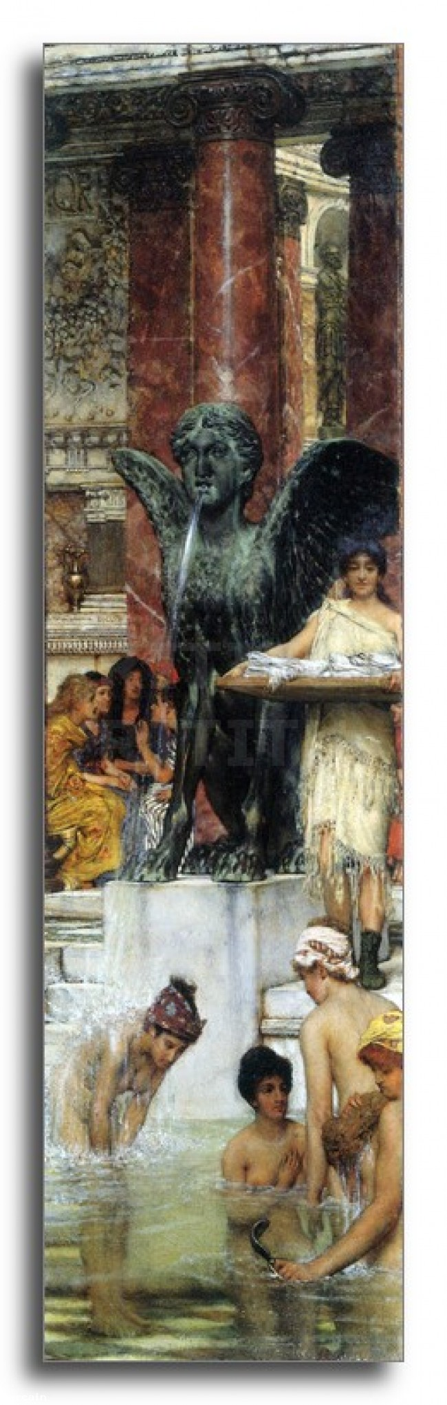 Riproduzione Artistica Un bagno Unantica tradizione da Alma Ta