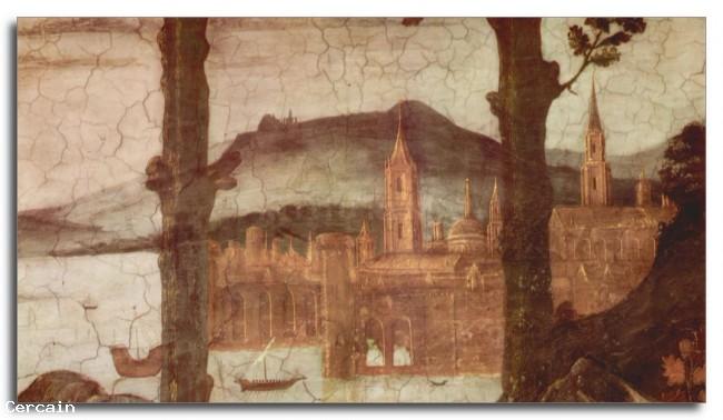 Riproduzione Artistica Cappella Sistina La Tentazione di Cristo par