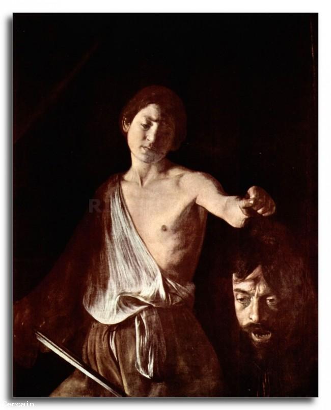 Riproduzione Artistica La testa di Medusa Tondo di Caravaggio