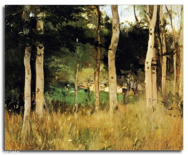 Cottage Riproduzione Artistica in Normandia da Morisot