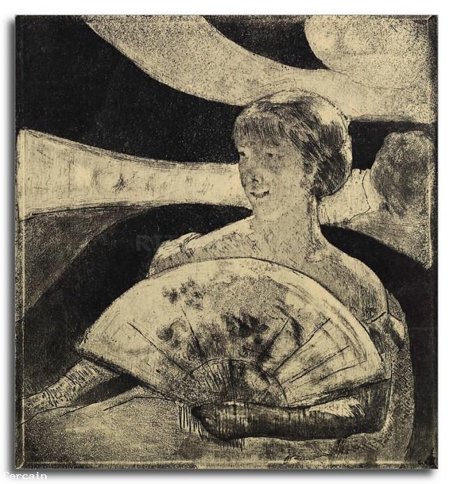 Riproduzione Artistica La Loge Opera di Cassatt