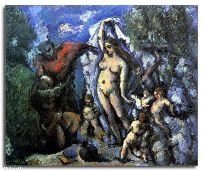 Temptation Riproduzione Artistica di SantAntonio di Cèzan