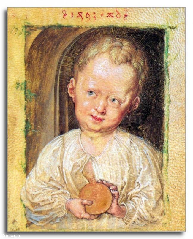 Riproduzione Artistica ragazzo Gesù di Durer