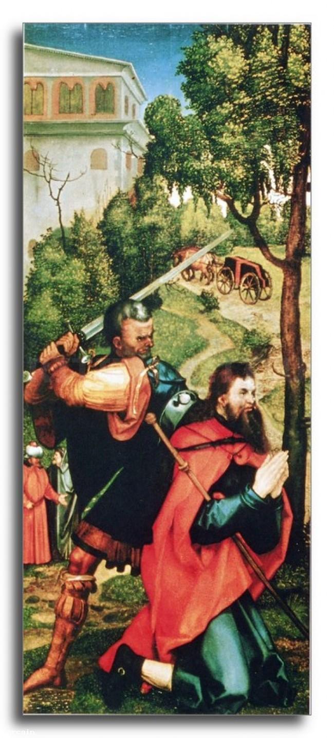 Riproduzione Artistica Martirio di San Giacomo di Durer