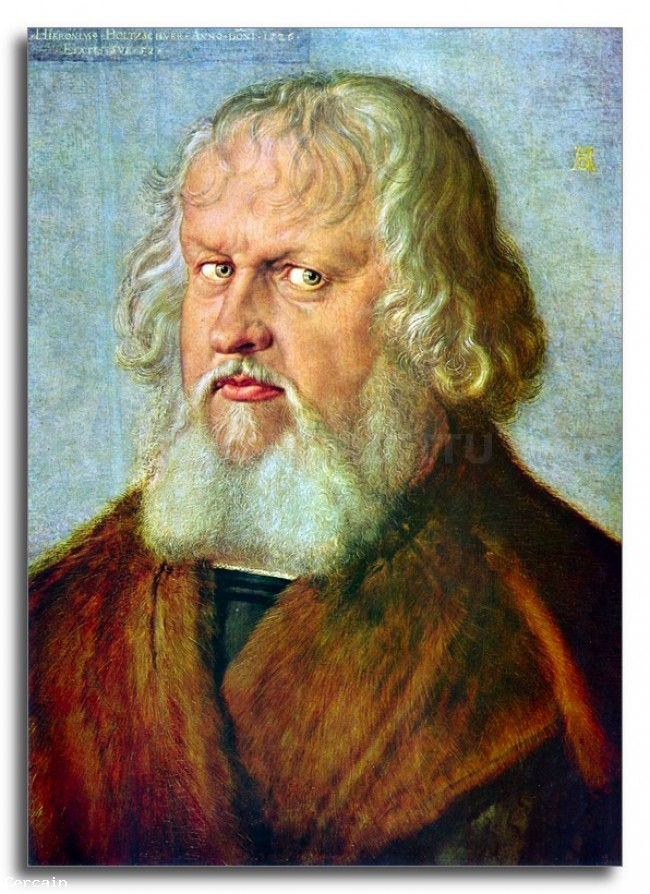 Riproduzione Artistica Ritratto di Hieronymus Holzschuher di Durer