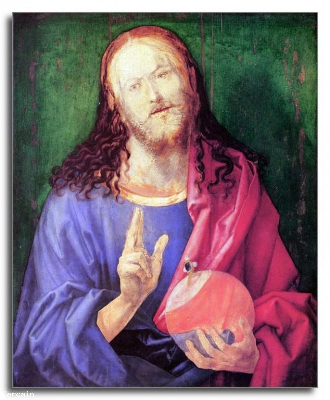 Riproduzione Artistica Salvator Mundi di Durer