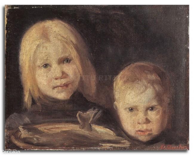 Riproduzione Artistica Elise und ren da Anna Ancher