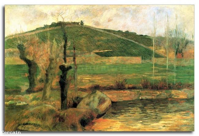 Riproduzione Artistica Guarda Sainte Margueritte vicino a Pont Avon da