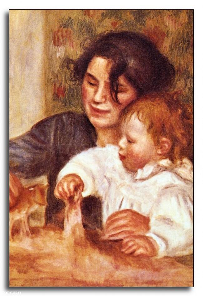 Riproduzione Artistica Gabrielle e Jean di Renoir