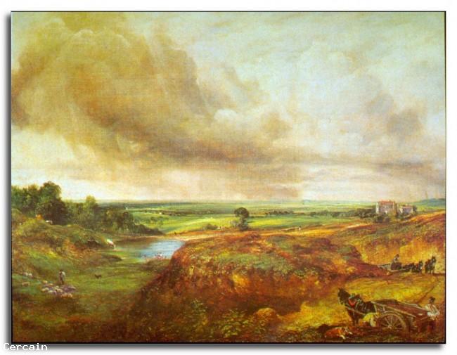 Riproduzione Artistica Hampstead Heath di Constable