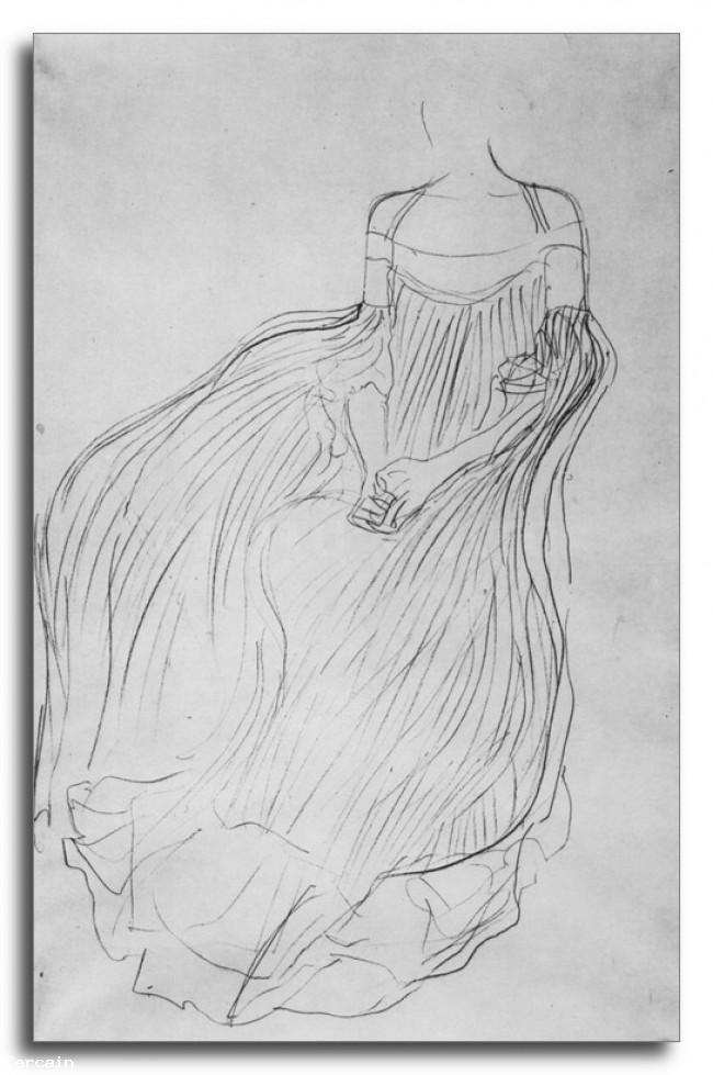 Riproduzione Artistica studio Costumi di Klimt