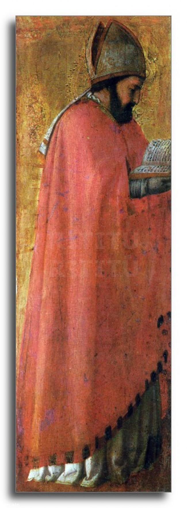 Riproduzione Artistica SantAgostino di Masaccio