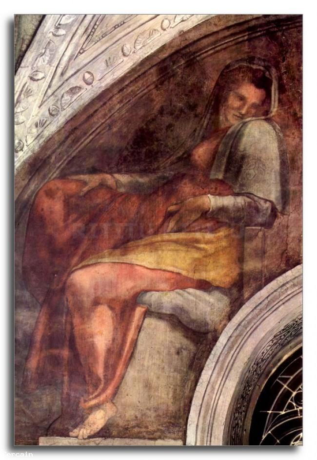 Riproduzione Artistica Gli antenati di Cristo di Michelangelo