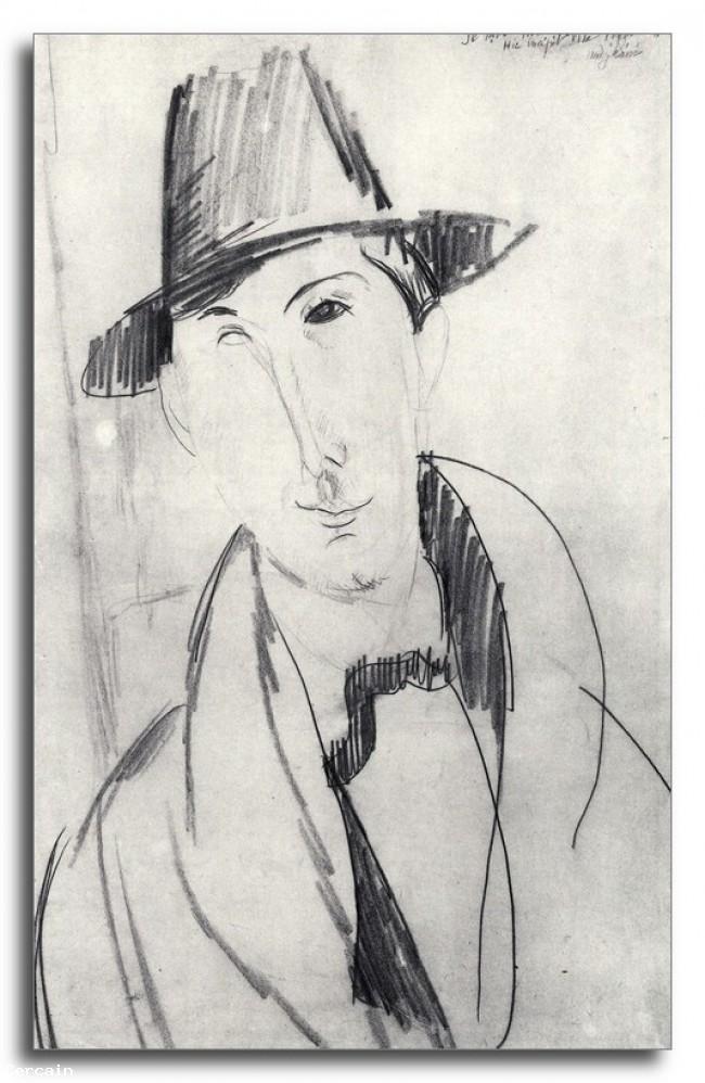 Riproduzione Artistica Modigliani Mario Varvogli