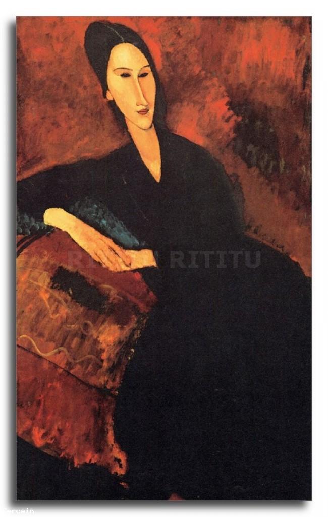Riproduzione Artistica Modigliani Ritratto di Anna Zborowska 2