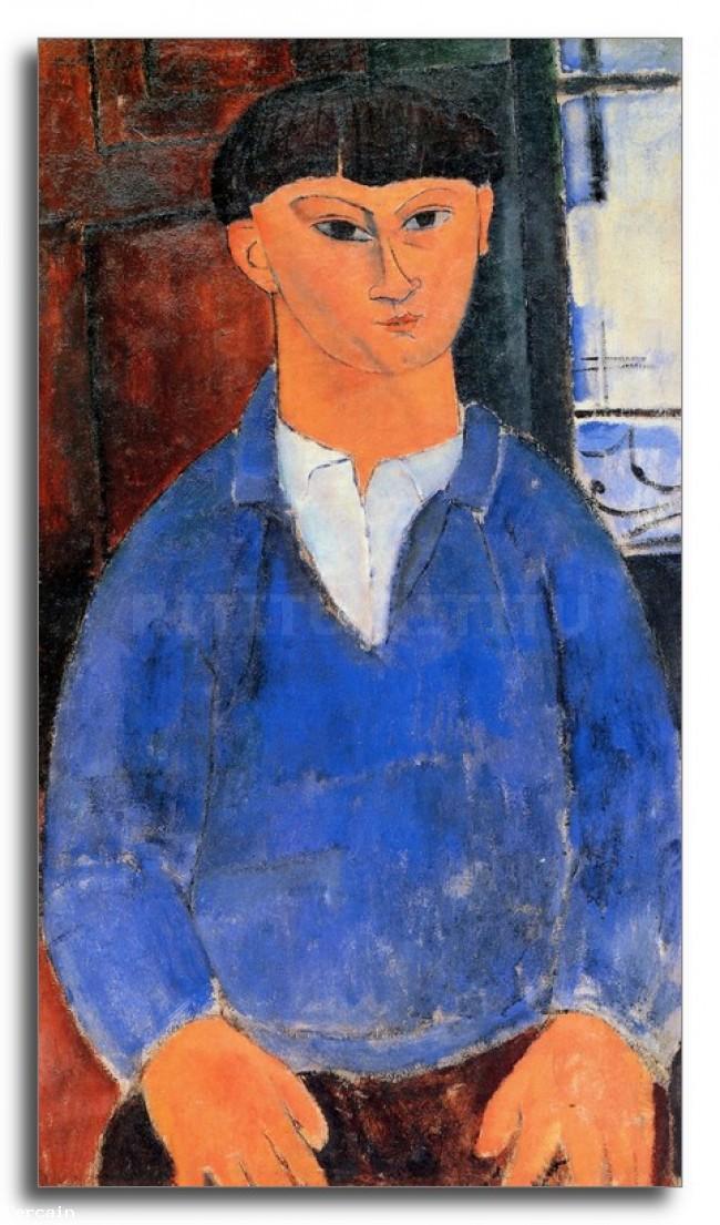 Riproduzione Artistica Modigliani Ritratto di Moise Kisling 2