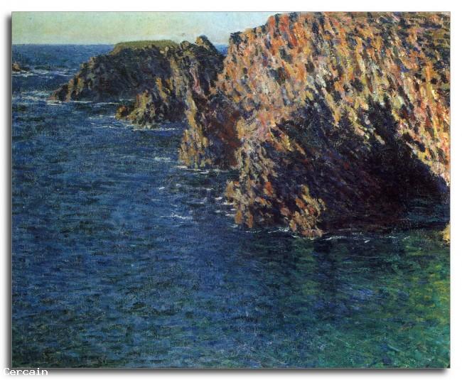 Riproduzione Artistica Port Domois di Monet