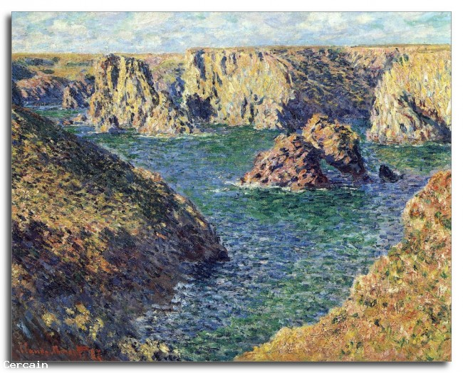 Riproduzione Artistica Port Donnant di Monet