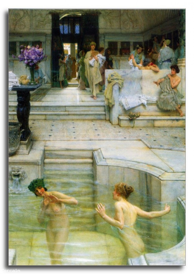 Riproduzione Artistica Alma Tadema Una tradizione preferiti