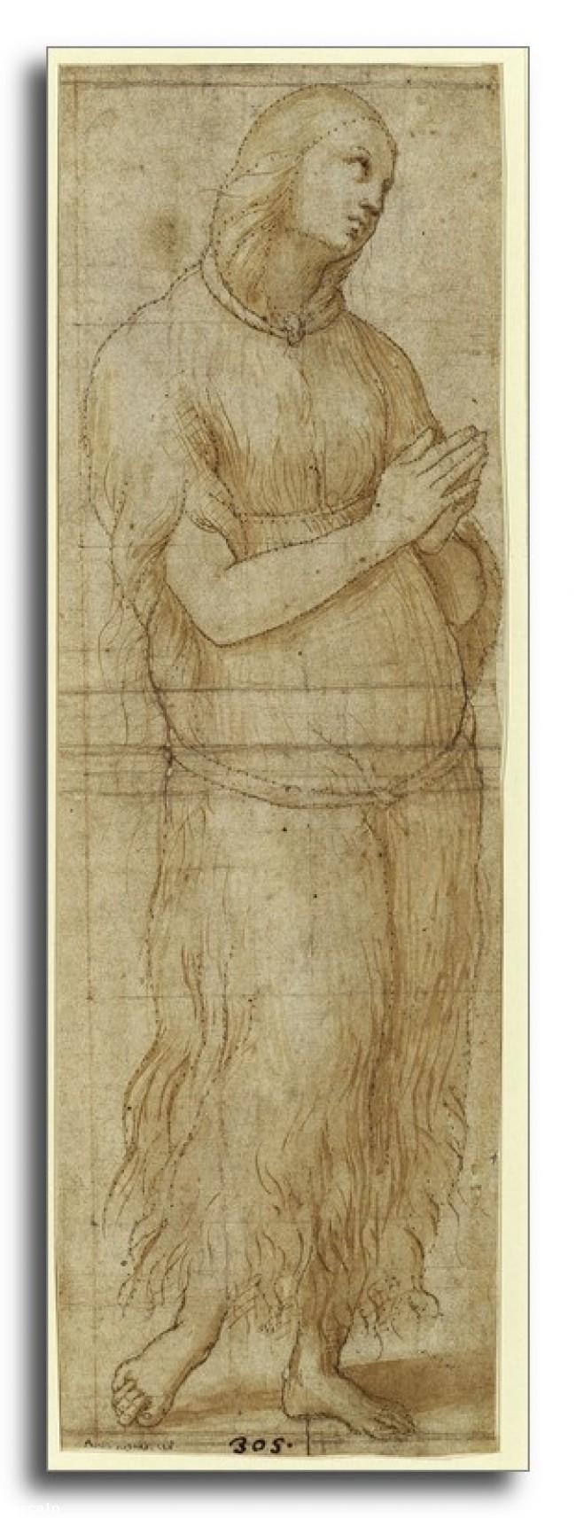 Riproduzione Artistica Maddalena di Raffaello