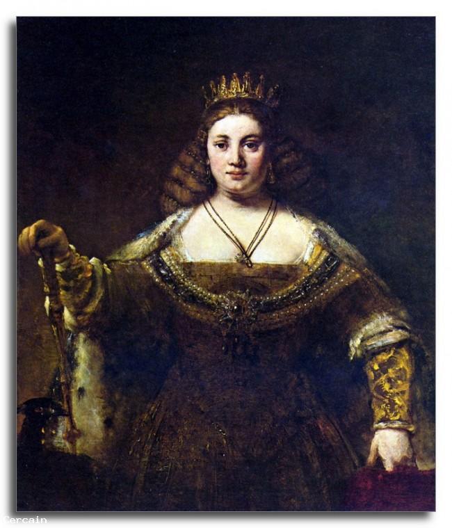Riproduzione Artistica Juno di Rembrandt