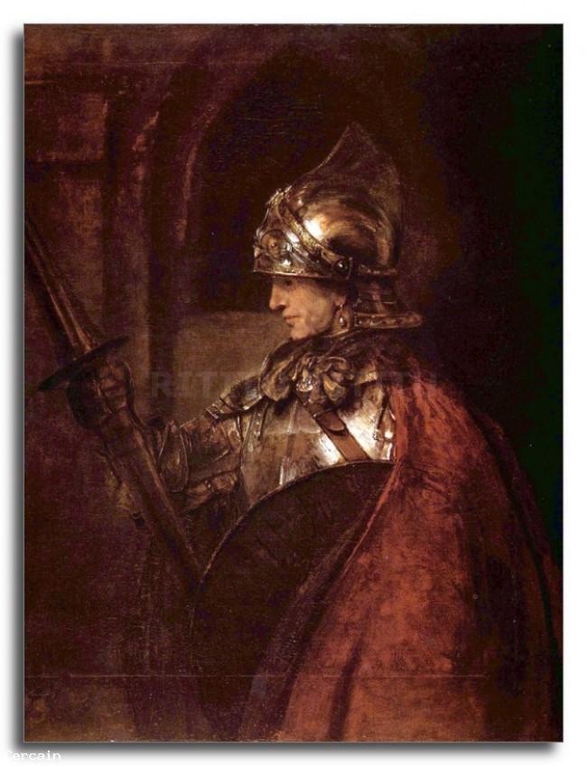 Luomo con le braccia Riproduzione Artistica Alessandro Magno d