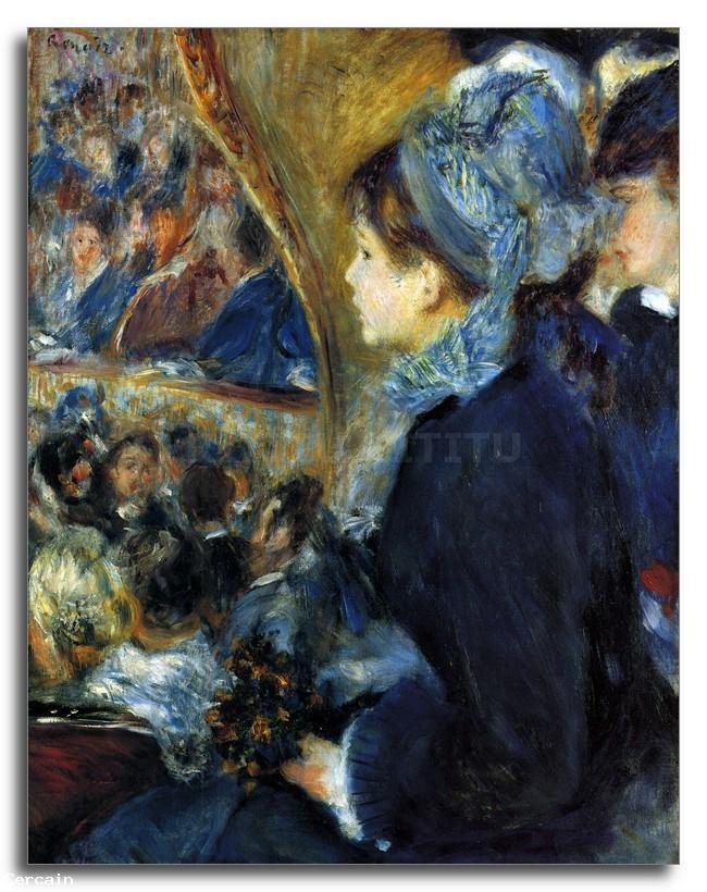 Riproduzione Artistica Al teatro di Renoir