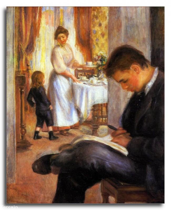Colazione a Berneval Riproduzione Artistica di Renoir