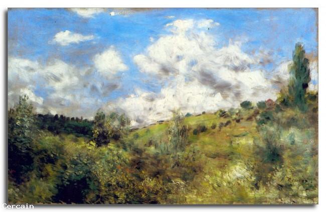 Paesaggio Riproduzione Artistica di Renoir