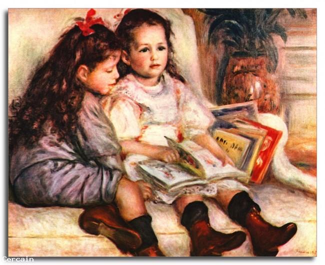 Riproduzione Artistica Ritratto di Jean e Geneviève Caillebotte