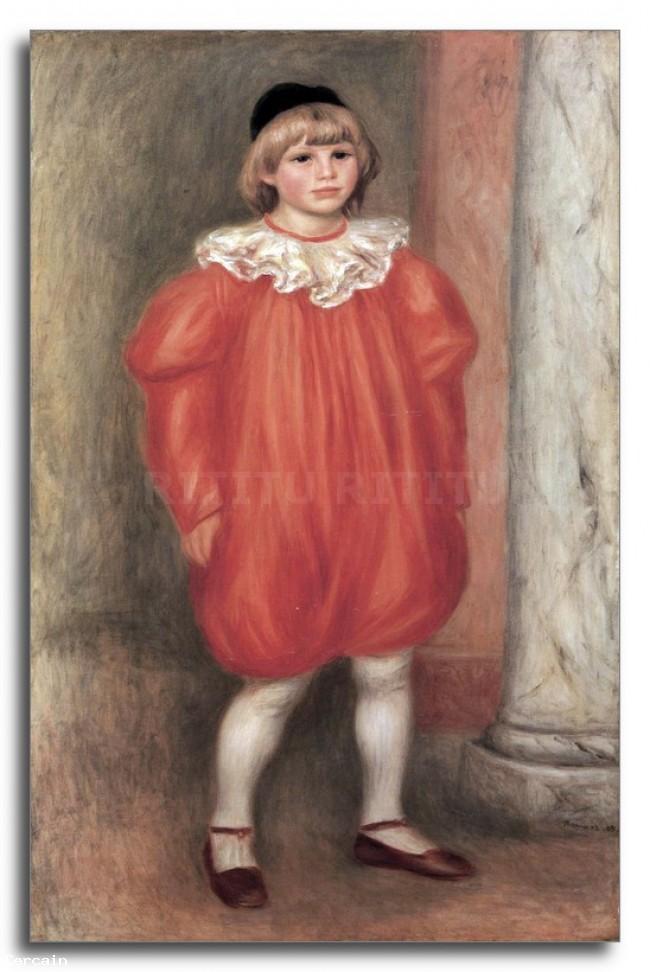 Riproduzione Artistica Il pagliaccio di Renoir