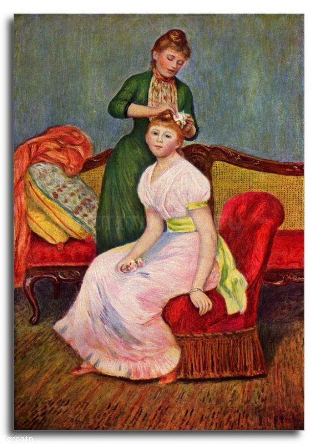 Riproduzione Artisitca Il barbiere di Renoir