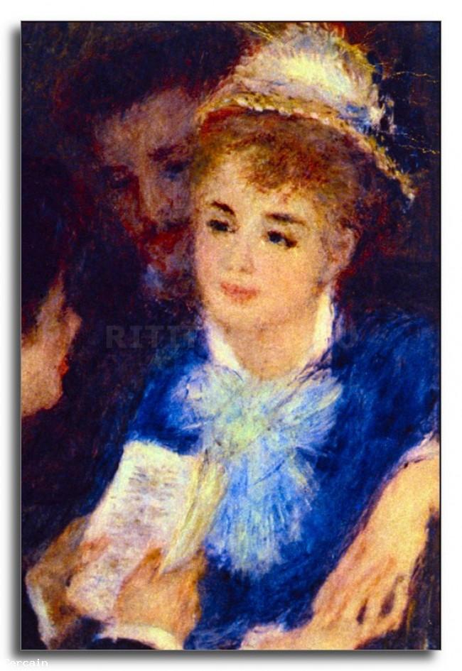 Riproduzione Artisitca La lettura della parte di Renoir