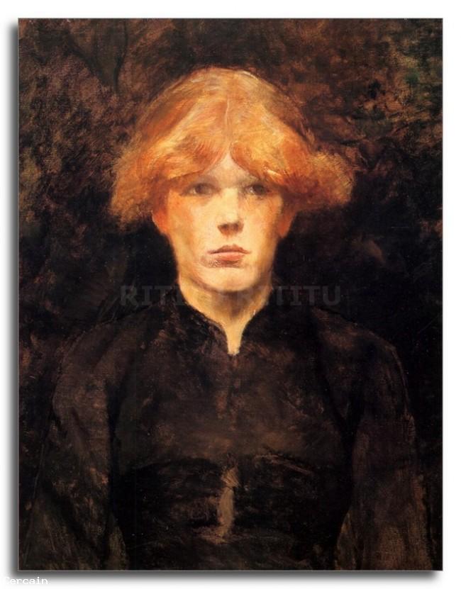 Riproduzione Artistica Carmen di Toulouse Lautrec