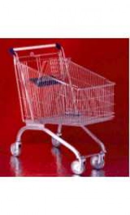 Carrello da Supermercato Self Service Spesa Olimpus 100 litri