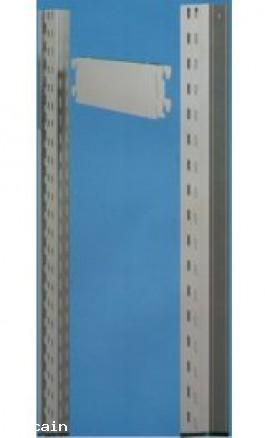 Fiancata Traversini Piedini profondità mm400xh2000 SGFTP40200F